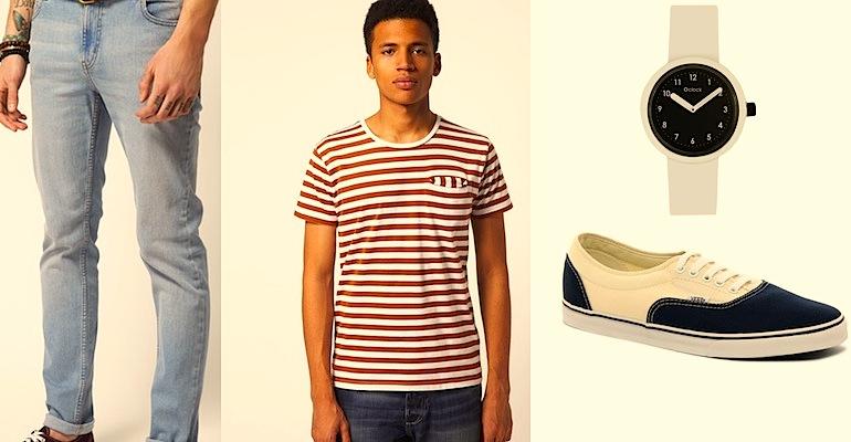 A csíkos póló rengetegféle modern változatát találhatjuk meg az üzletekben  idén tavasszal c9531dfea4
