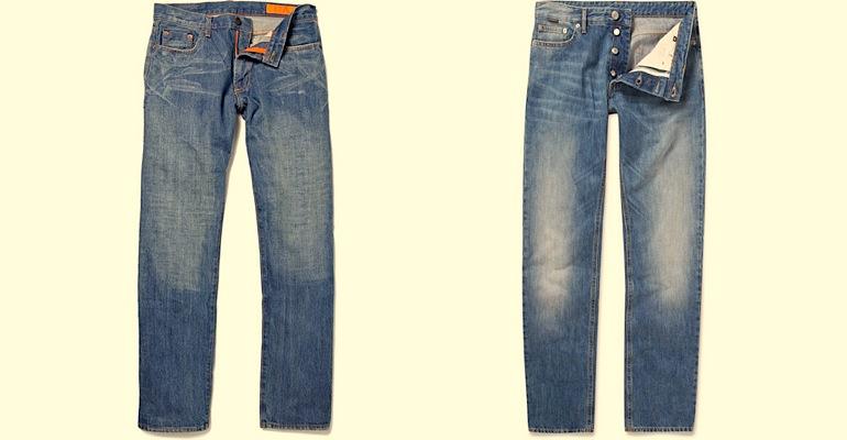 705aab2984 Egy pólóval és egy tornacipővel mindig laza hatást érhetünk el a straight  cut farmer segítségével.