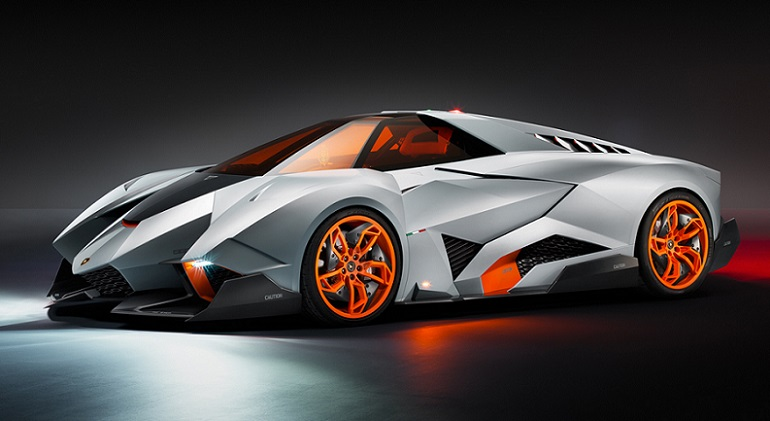 A legönzőbb földönkívüli – Bemutatták a Lamborghini Egoistát