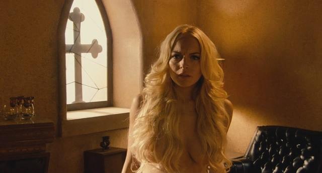 clip from nude machete Lohan