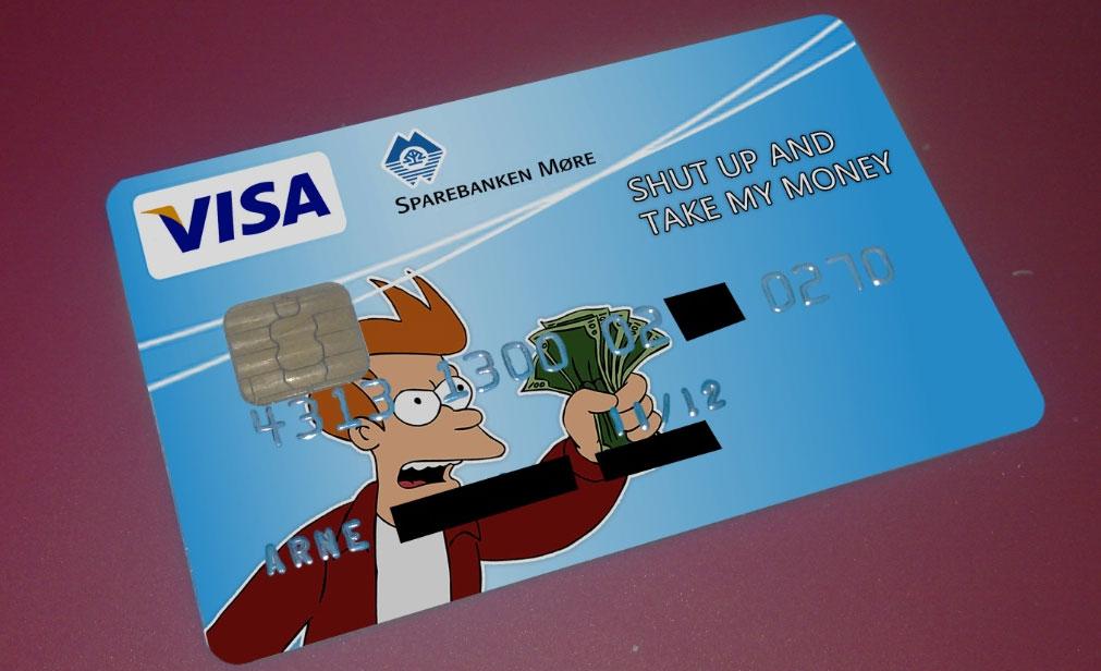 Прикольные картинки о кредитных картах