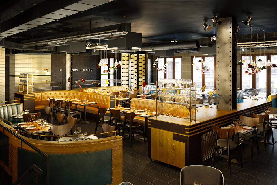 A heves temperamentumáról ismert brit séf Hedon Street Kitchen néven  nyitott új éttermet Londonban. A megnyitó estéjére minden asztalt  lefoglaltak 928795f453