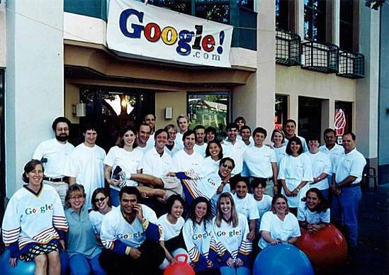 google, team, internet, staff, beginning