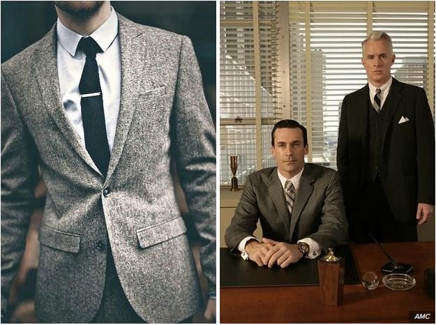 7c2815c682 Ha modern zakót keresnél, válassz keskeny hajtókás darabot! A széles  hajtókás öltönyök inkább a klasszikus, régi, Mad Men-es stílust képviselik