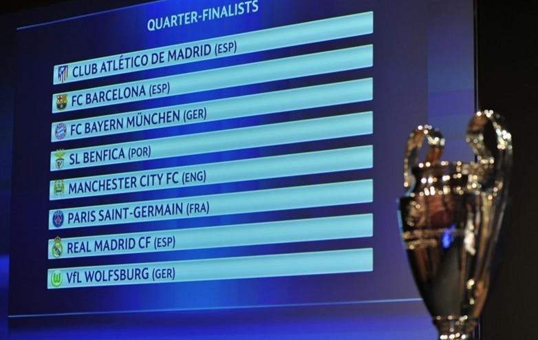 BL-negyeddöntő: spanyol és olaj rangadó, Bayern- és Real ...