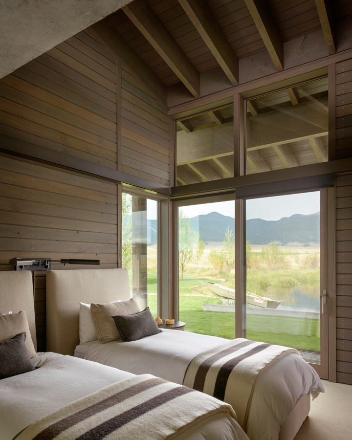 Montana Ranch House By Suyama Peterson Deguchi: Mai álmodozásunk Tárgya Ez A Montanai Ranch