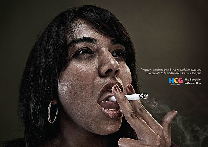 dohányzásellenes kampány
