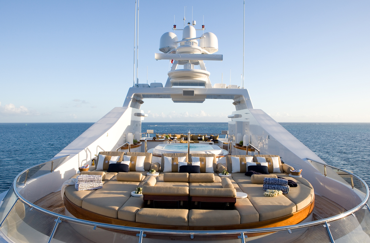 luxury, yacht, billionaire, jacuzzi, highlife, luxurious, ocean, sunshine, party, helios