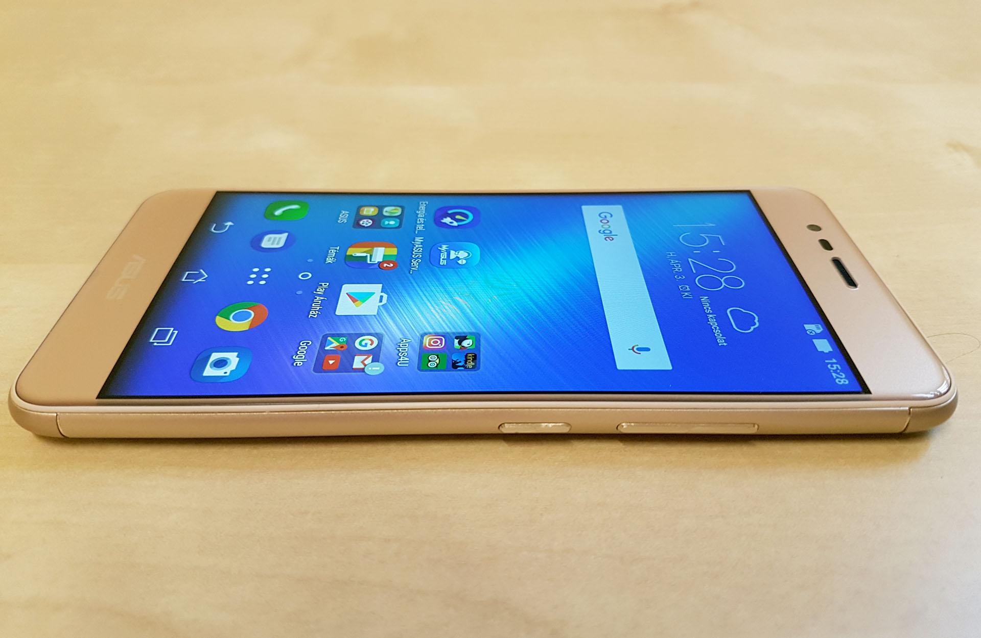 A Zenfone 3 Max a kategóriájában szinte egyedüliként teljes fémborítást  kapott d61484df27
