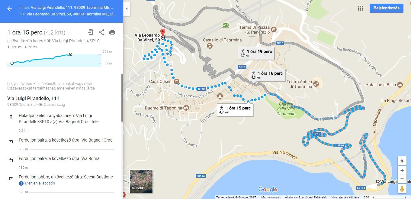143eb38cdb A Google Maps ugyanis mindeddig nem igazán kötötte a felhasználók orrára,  hogy milyen terepviszonyokra számíthatnak A és B pont között, azt  legfeljebb a ...