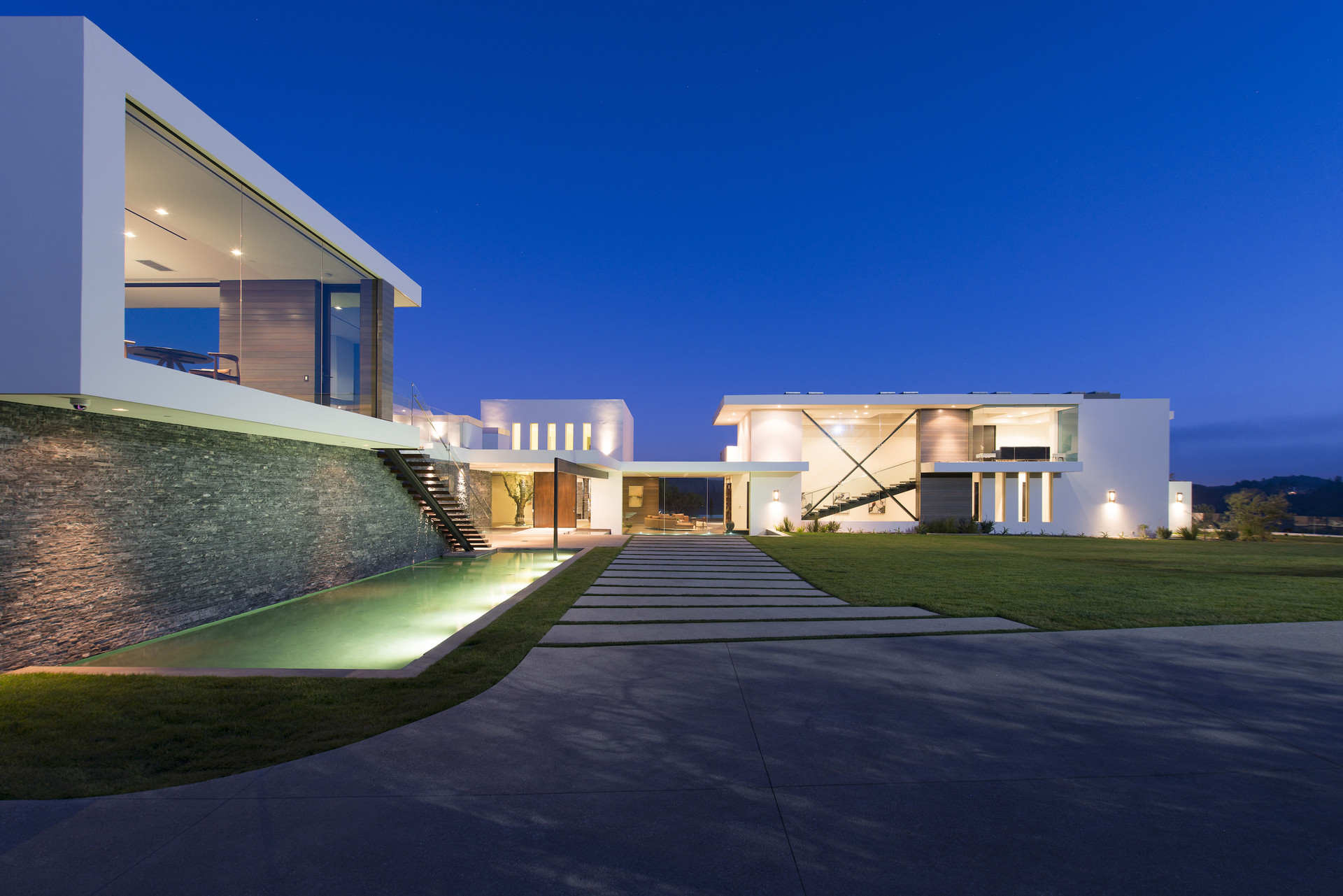 Eleganter Einrichtungsstil Luxus Beverly Hills