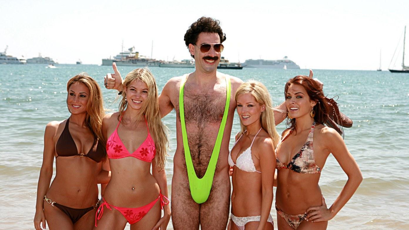 Hat hülye turista Borat-fürdőruciban parádézott a kazah fővárosban   letartóztatás 3ec6665e7a