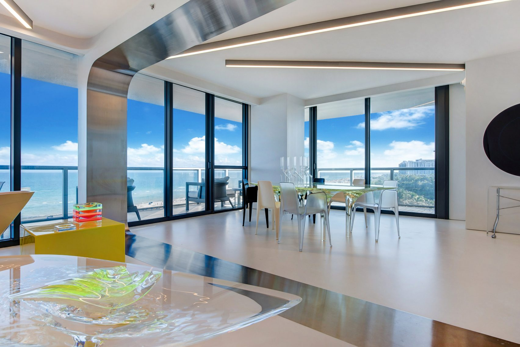 design, luxury, penthouse, american, miami, modern, zaha hadi, beach, architect, villa, billionaire, house, usa
