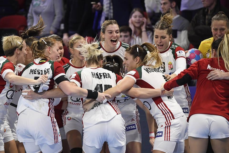 Hatalmas meccsen győzte le Romániát az Eb-t a női kéziválogatott