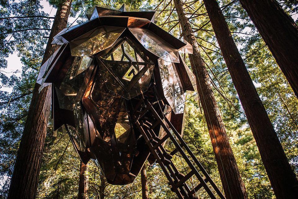 Nézz bele ebbe az erdei lakba, és megtudod, milyen egy kaleidoszkópban élni