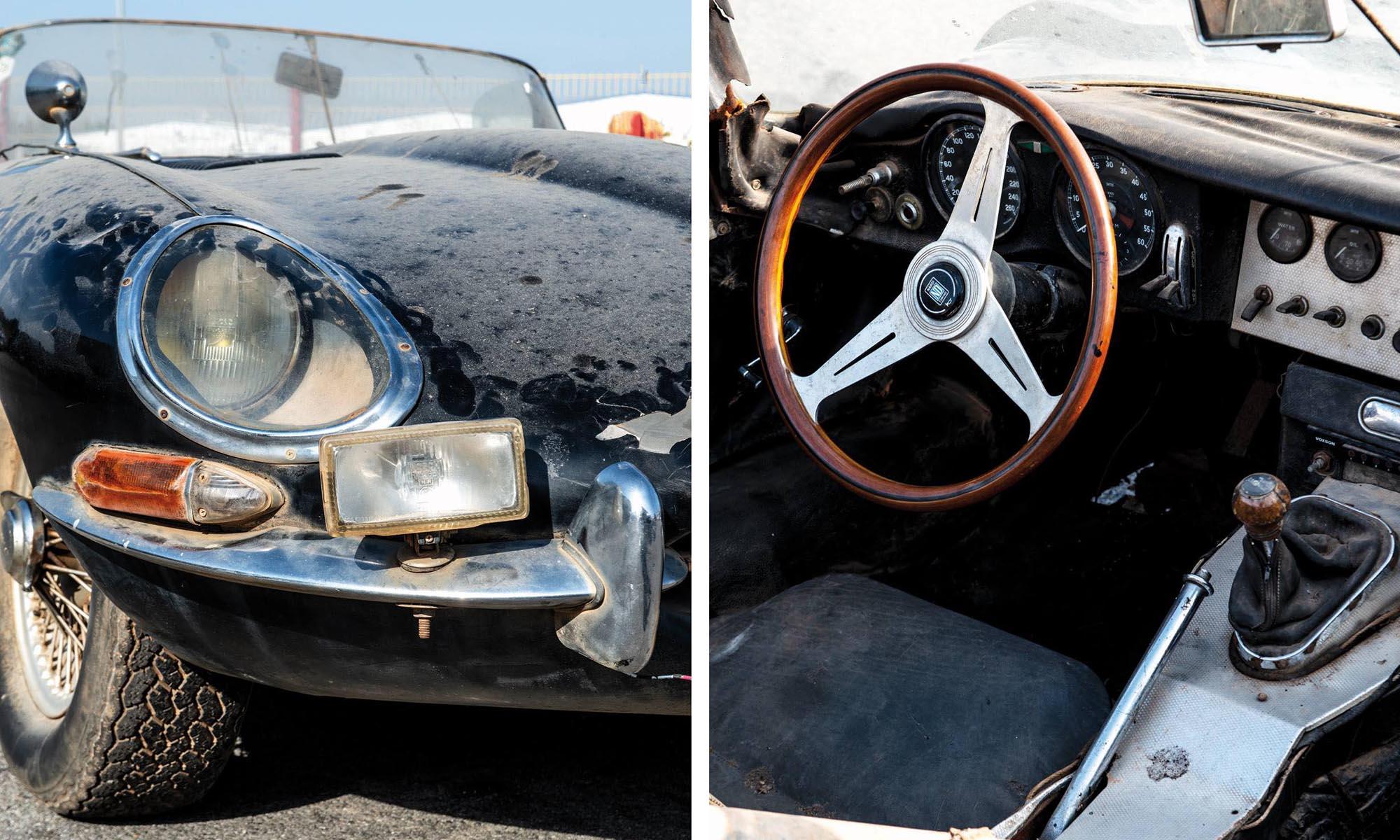 Jaguar, E-Type, car, sport car, vehicle, job, travel, Africa, auction, veteran, businessman, tale, France