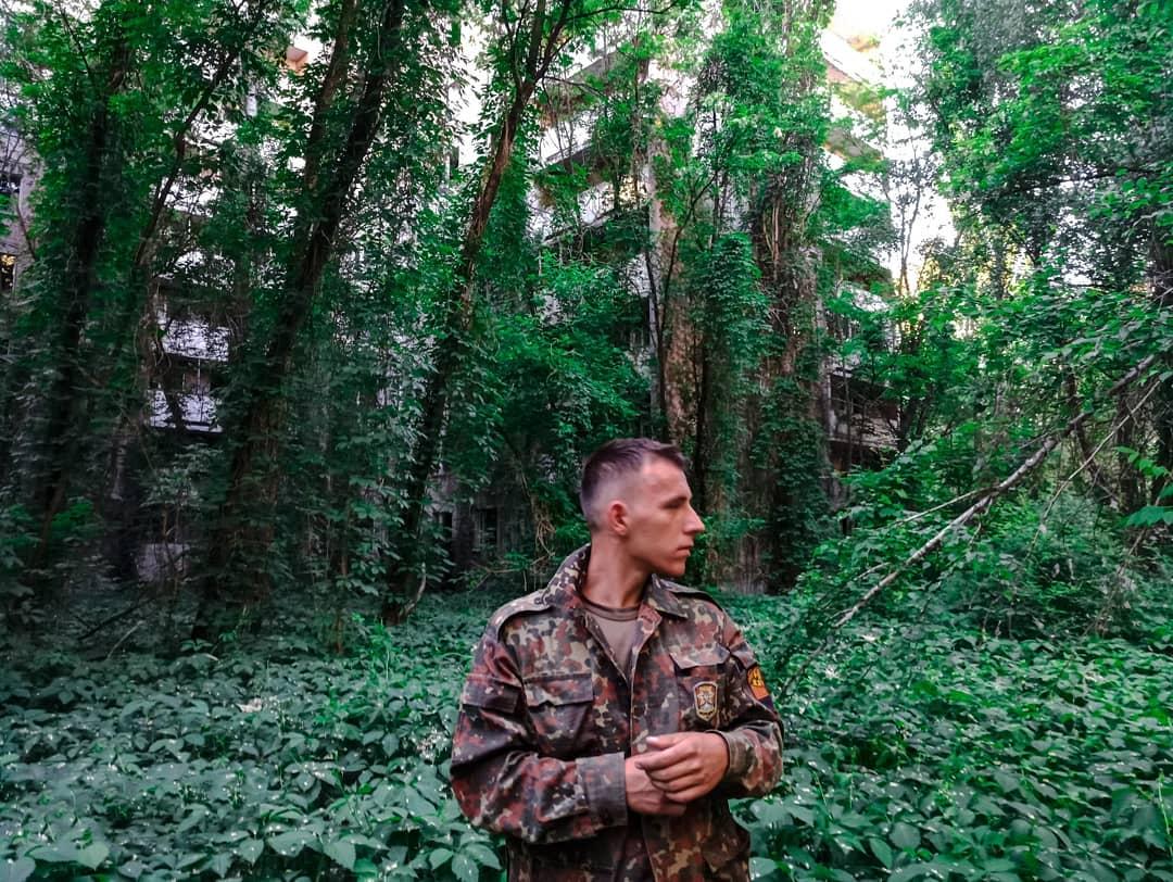 Ez a Csernobilt bejáró ukrán srác sem a sugárzástól, sem a magasságtól nincs betojva