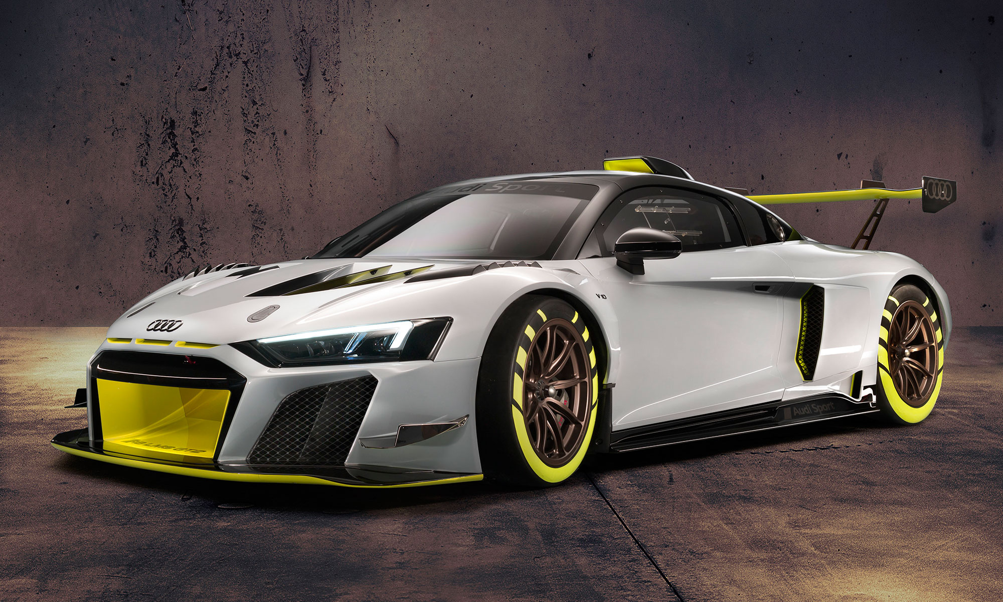 2020 car, sports car, race car, audi, audi r8, lms gt2, Audi R8 LMS GT2, wild race car, 630 horsepower, race, youtube, video, audi sport, supercar, V10 engine, drivers, speed