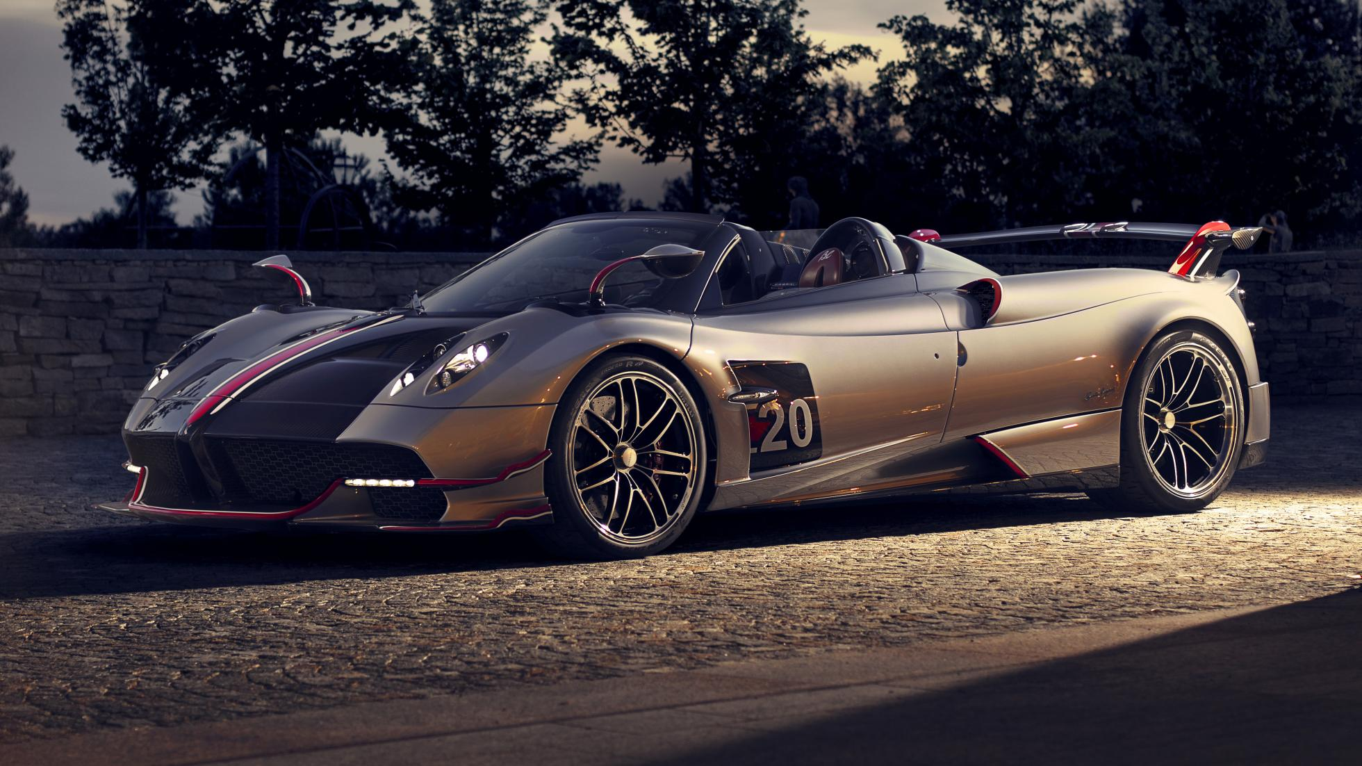 Pagani Huayra Roadster BC, hypercar, 800-HP, luxury, billionaire, vip, speed, most-expensive model, First Look, youtube, video, Pagani, Roadster BC, Monterey Car Week, top styling, powerful engine, impressive stats, 6.0-liter AMG V12, rear wheel, gearbox, Xtrac, top car, luxury car, luxurious, lifestyle