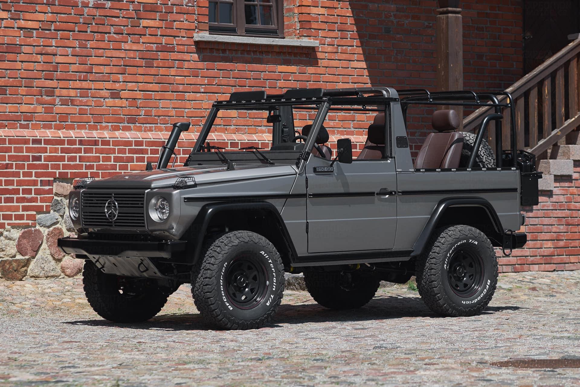 Új életet kezdett ez a katonai Mercedes G-osztály